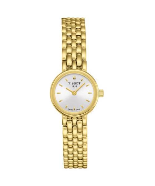 Tissot Lovely Gold Damenuhr rund T058.009.33.031.00   Uhren-Lounge