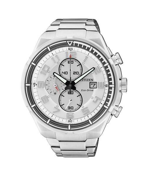 Citizen Eco-Drive 46mm Herren Chronograph CA0490-52A