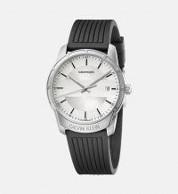 Calvin Klein Herren Armbanduhr Evidence 42mm mit weißen Zifferblatt K8R111D6