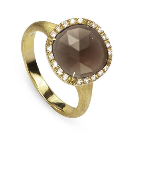 Marco Bicego Ring Gold mit Rauchquarz & Diamanten Jaipur AB449-B2 QF01