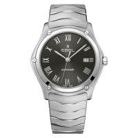 Ebel Sport Classic Automatik Herrenuhr 40mm Zifferblatt Anthrazit-Grau Edelstahl-Armband 1216431A | Uhren-Lounge