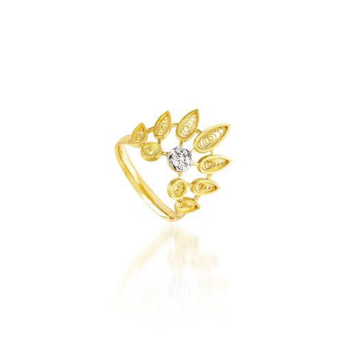 Luisa Rosas Ring Gold mit Diamanten House of Filigree HAN5521.ER