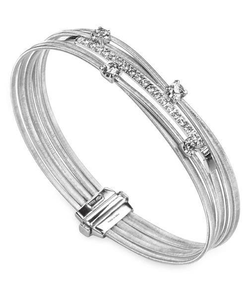 Marco Bicego Armband Weißgold 18 Karat mit Diamanten Goa  BG700-B2   Schmuck Sale   Uhren-Lounge