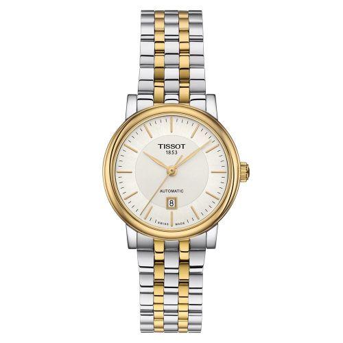 Tissot Carson Premium Automatic Lady Bicolor Damenuhr 30mm T122.207.22.031.00 | Uhren-Lounge