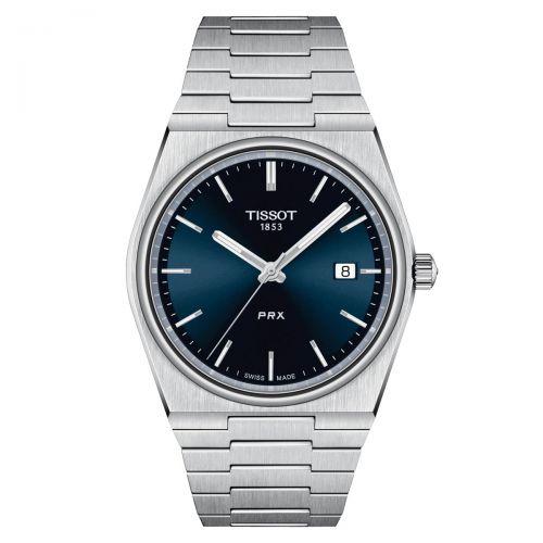 Tissot PRX 40 205 Herrenuhr Blau Edelstahl-Armband Quarz 40mm 2021 T137.410.11.041.00