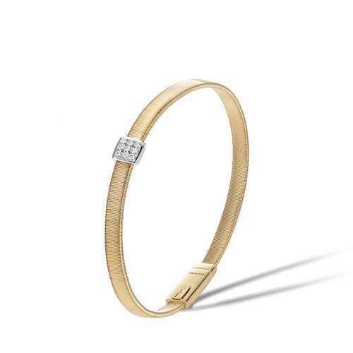 Marco Bicego Armband Gold mit Diamanten Pave Masai BG731 B YW