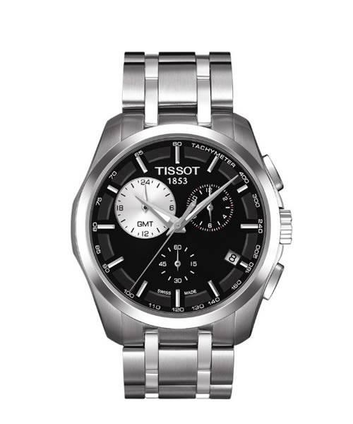 Tissot Couturier Quarz GMT Herren Chronograph (T035.439.11.051.00)