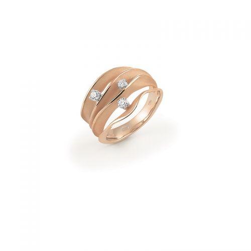 Annamaria Cammilli Dune Ring 750 Gold mit Diamanten GAN1942J