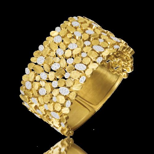 Luisa Rosas BE Armband Gold mit Diamanten L LRBE017 & LRBE088