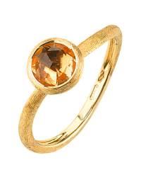 Marco Bicego Damen-Ring aus Gold mit Citrin Jaipur AB471-QG01
