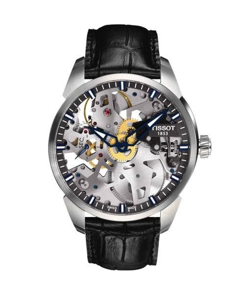 Tissot T-Complication Squelette Herrenuhr T070.405.16.411.00