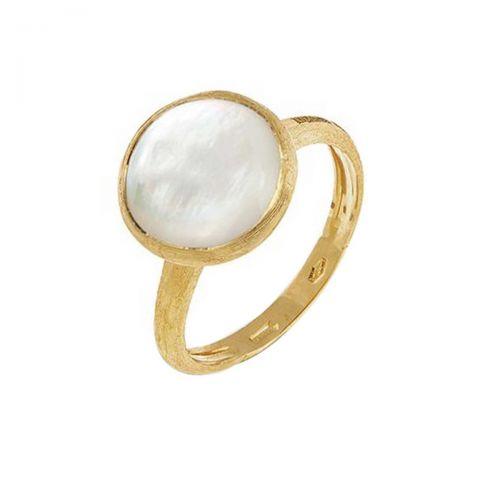 Marco Bicego Jaipur Ring mit Perlmutt Gold 18 Karat AB586 MPW Y