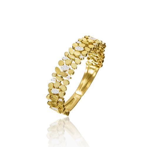 Luisa Rosas BE Armband Gold mit Diamanten S LRBE087 & LRBE026
