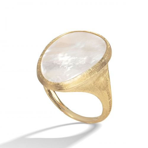 Marco Bicego Ring Gold & weißes Perlmutt Lunaria AB565 MPW Y