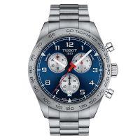 Tissot PRS 516 Chronograph Herrenuhr 45mm Blau Edelstahl-Armband Quarz T131.617.11.042.00