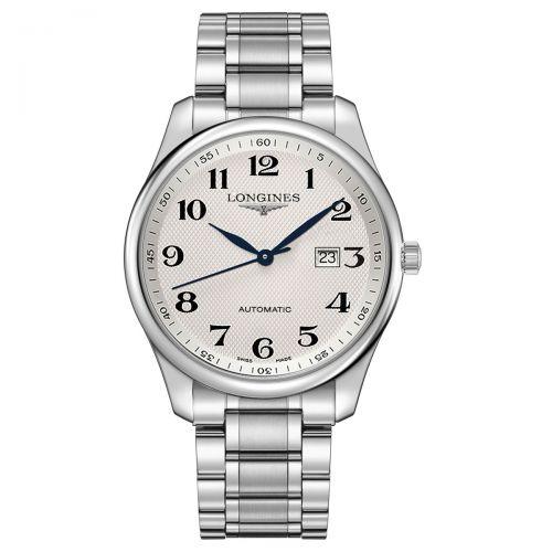 Longines Master Collection Herrenuhr Automatik 42mm Silbern Edelstahl-Armband L2.893.4.78.6
