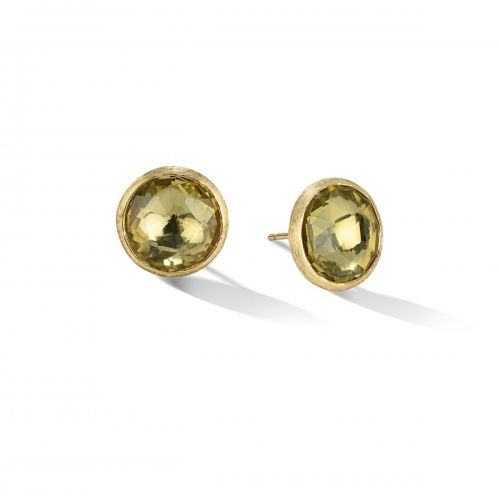 Marco Bicego Ohrringe Jaipur Color Gold mit Lemon Citrin Edelsteinen Ohrstecker OB1739 LC01 Y