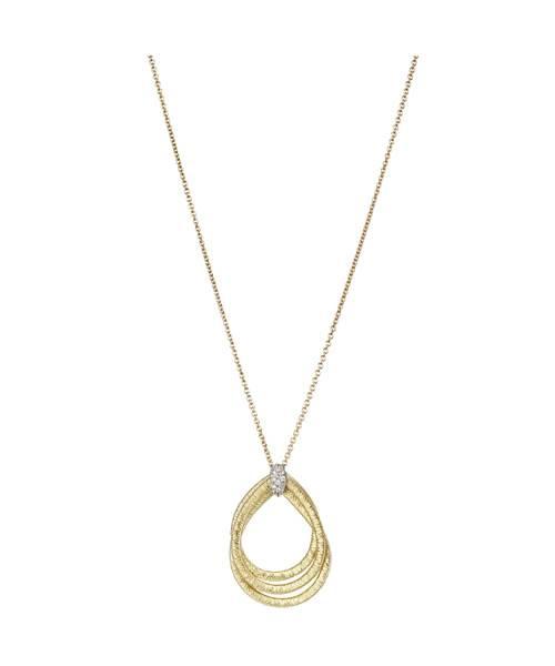 Marco Bicego Kette & Anhänger Damen Gold mit Diamanten 3 Stränge Cairo Halskette CG706-B | Uhren-Lounge