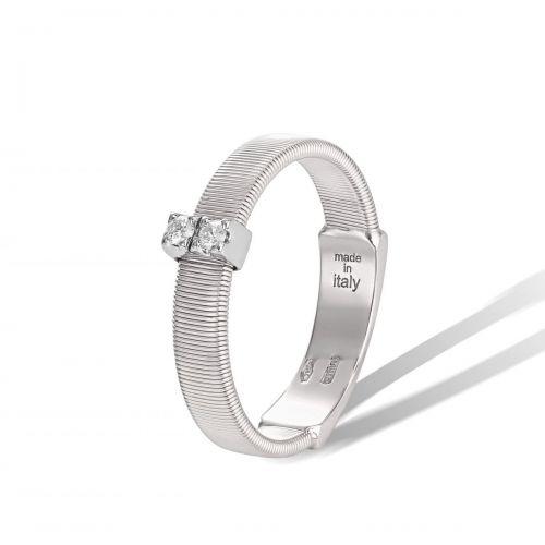 Marco Bicego Ring Weißgold mit Diamanten Masai AG343 B W