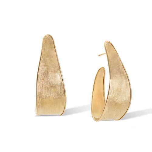 Marco Bicego Ohrringe Gold 18 Karat Hoop Creolen Lunaria OB1761 Y