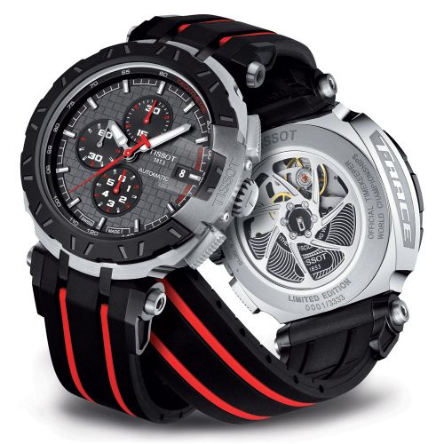 Tissot T-Race MotoGP Special Limited Edition Chronograph Automatic 45mm Schwarz T092.427.27.061.00