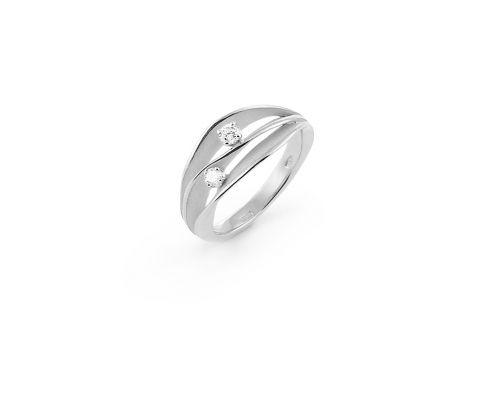 Annamaria Cammilli Dune Ring Weißgold mit Diamanten GAN1941W