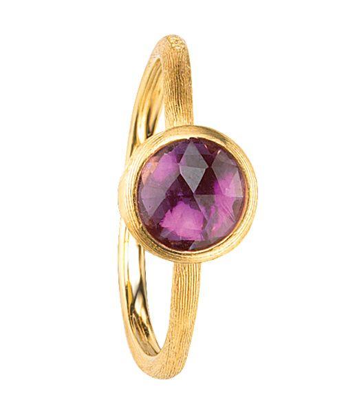 Marco Bicego Jaipur Ring Gold mit lila Amethyst Edelstein AB471-AT01   Uhren-Lounge
