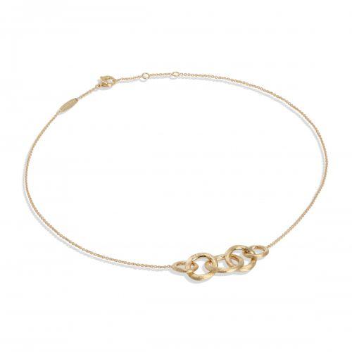 Marco Bicego Jaipur Link Halskette Gold 18 Karat CB1375 Y