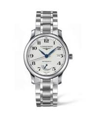 The Longines Master Collection 38,5mm Automatik Herrenuhr mit Gangreserveanzeige L2.708.4.78.6