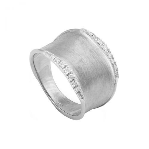 Marco Bicego Lunaria Ring Weißgold mit Diamanten AB550 B W