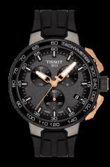 Tissot T-Race Cycling Sport Herrenuhr mit Tachymeter T111.417.37.441.07