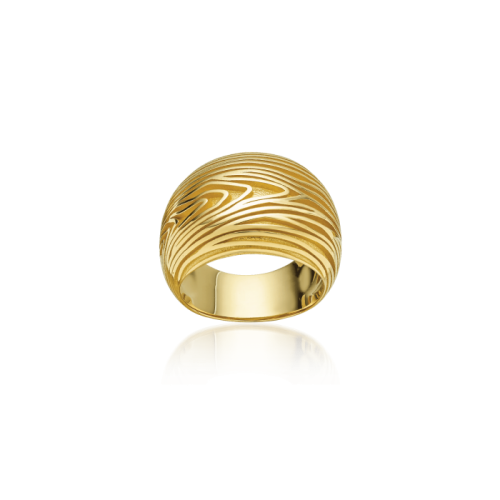 Luisa Rosas Essences Ring Wood Gold 18 Karat LRES045