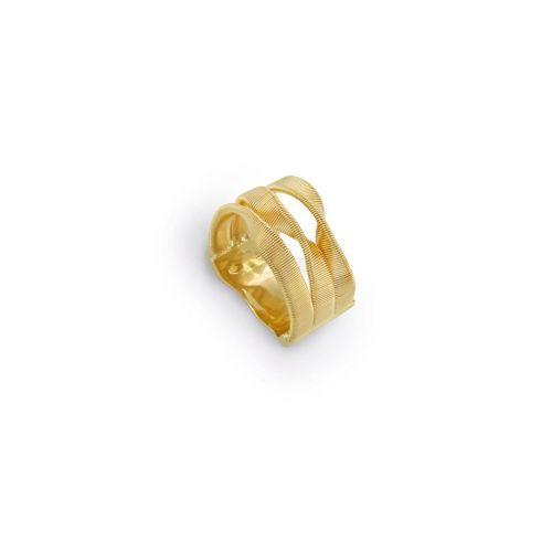 Marco Bicego 18 Karat Gelbgold 3-Strang Damen Ring Marrakech Supreme AG328