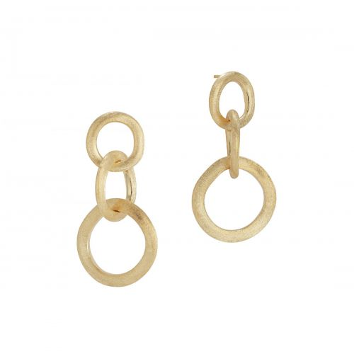 Marco Bicego Jaipur Link Ohrringe Gold 18 Karat Ohrhänger OB940-P Y