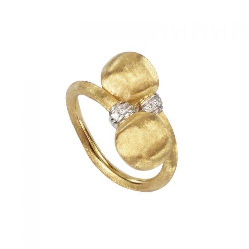 Marco Bicego Africa Ring Gold mit Diamanten AB477-B2 B YW