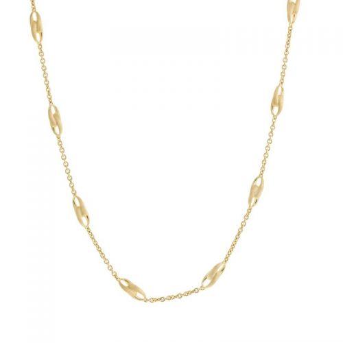 Marco Bicego Lucia Halskette Gold 18 Karat kleine & große Glieder CB2363-Y-02 SALE | Uhren-Lounge