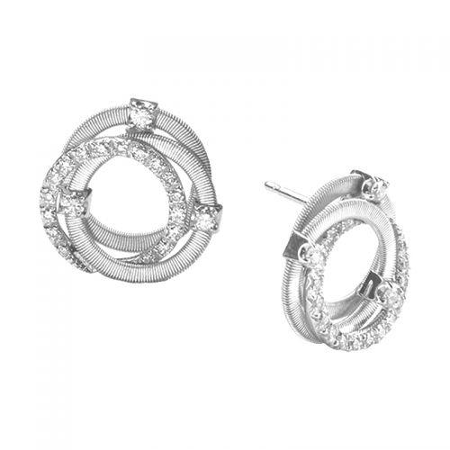 Marco Bicego Ohrstecker Weißgold & Diamanten Goa Ohrringe OG308 B2 W