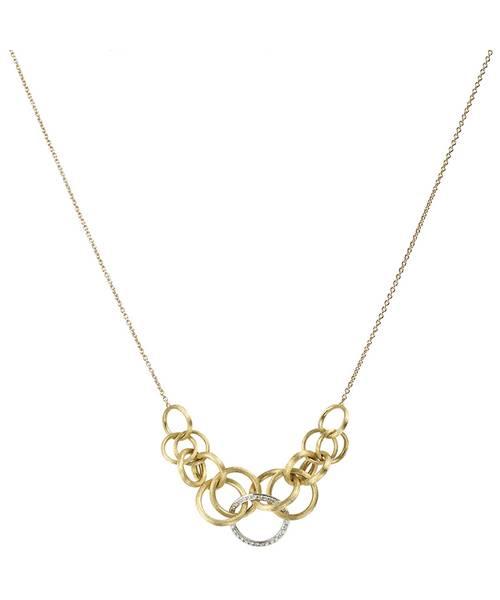 Marco Bicego Halskette Gold mit Diamanten Jaipur Link Goldkette CB1688-B | Schmuck Sale | Uhren-Lounge