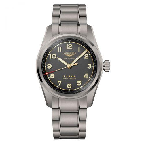 Longines Spirit Titan 42mm Herrenuhr Automatik Chronometer L3.811.1.53.6