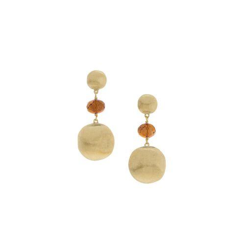 Marco Bicego Ohrringe Africa Gold mit gelben Citrin Edelsteinen Ohrhänger OB927-QG01-Y