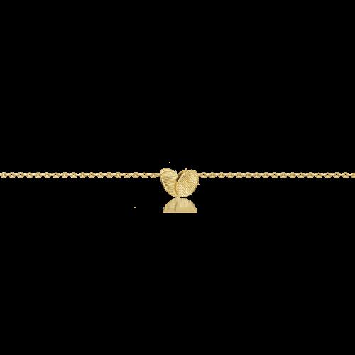 Luisa Rosas BE Herz Armkettchen Gold 18 Karat Armband LRBE176