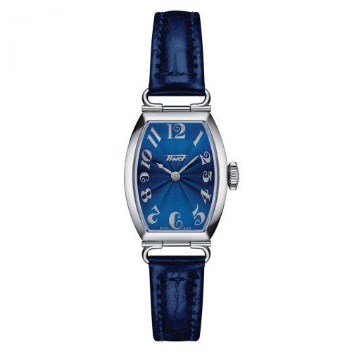 Tissot Heritage Porto Small Lady Damenuhr Blau Leder-Armband Quarz T128.109.16.042.00