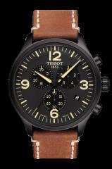 TISSOT CHRONO XL (T116.617.36.057.00) Herren Lederarmband Chronograph