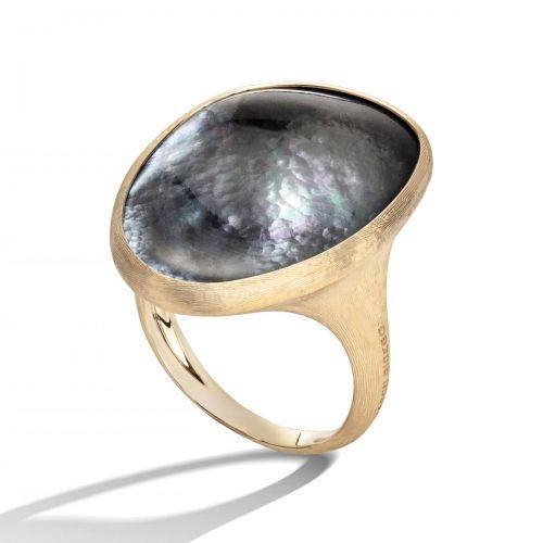 Marco Bicego Lunaria Ring Gold & schwarzes Perlmutt AB564 MPB Y