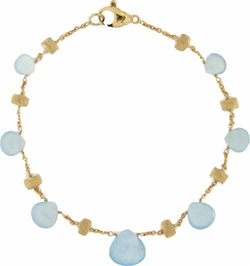 Marco Bicego Armband Gold mit blauen Aquamarinen Edelsteine Paradise BB1865-AQ01   Uhren-Lounge