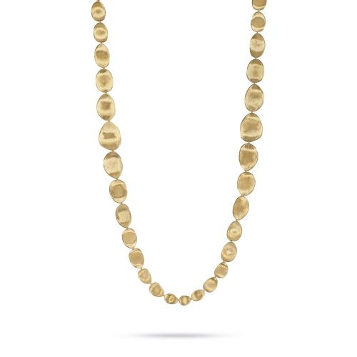 Marco Bicego Damen Schmuck Halskette Lunaria 100cm aus Gelbgold CB1876