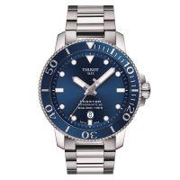 Tissot Seastar 1000 Powermatic 80 Blau 43mm Edelstahl-Armband Herrenuhr Automatik T120.407.11.041.03
