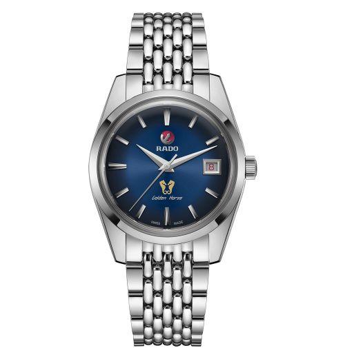 Rado Golden Horse Automatic mit blauem Zifferblatt & Edelstahl-Armband Limited Edition R33930203