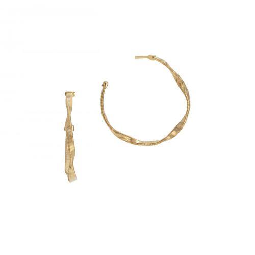 Marco Bicego Creolen Marrakech Gold 18 Karat Ohrringe OG255 Y