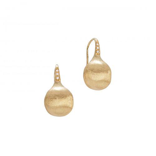 Marco Bicego Africa Ohrringe Gold mit Diamanten Ohrhänger OB1632-A B Y